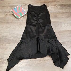 🌃2/$30🌃Gorgeous Charmeuse Black Fishtail Dress